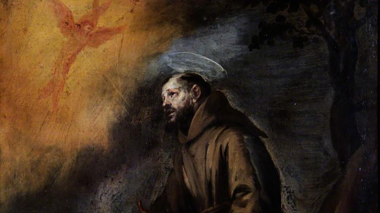 Murillo, Bartolome Esteban, 1617-1682; Saint Francis Receiving the Stigmata